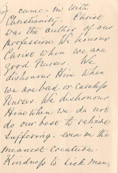 Letter to Nursing Students, page 3