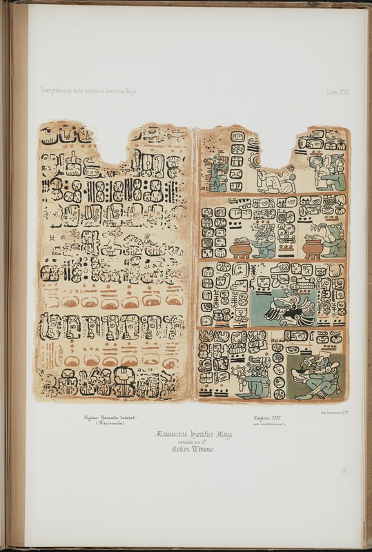 Ensayo sobre la interpretación de la escritura hierática de la América Central