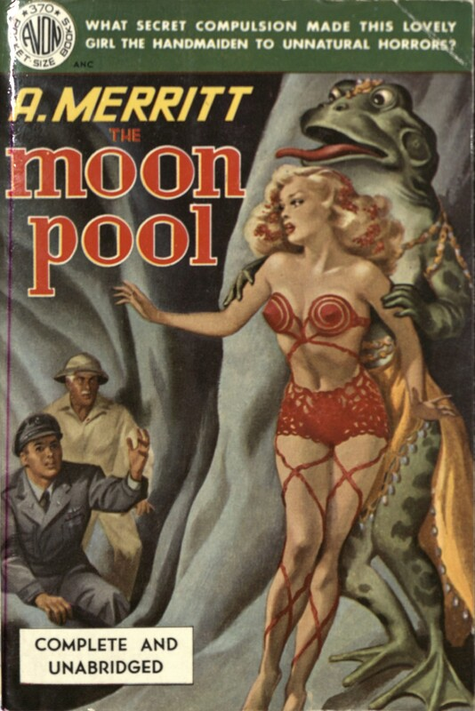 The moon pool by Abraham Merritt