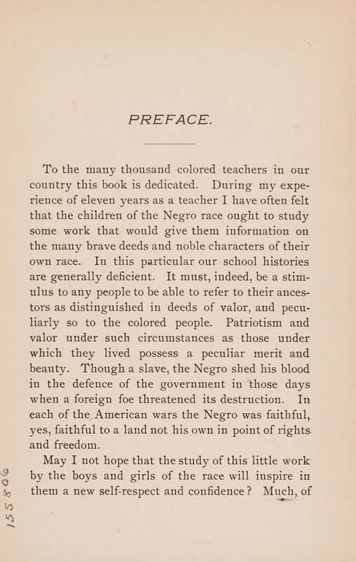 Edward A. Johnson. A School History ... of the Negro Race in the United States. With a Short Introduction as to the Origin of the Race. Also a Short Sketch of Liberia. Raleigh: Edwards & Broughton, 1894.