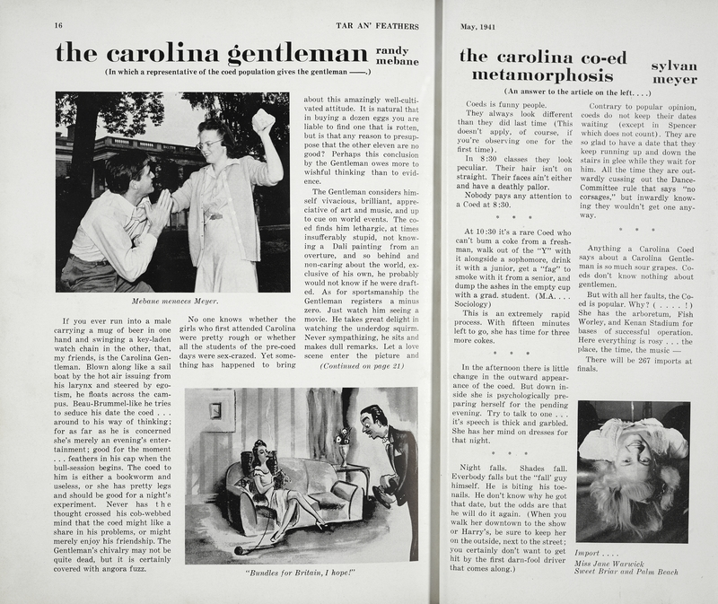 """Article, Tar an' Feathers, """"The Carolina Gentleman"""""""