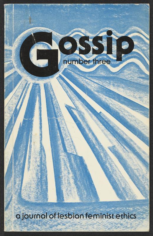 Gossip:aJournal of Lesbian Feminist Ethics, Issue no. 03<br />