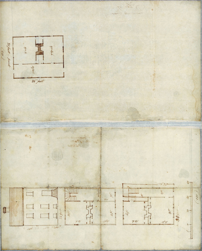 25 January 1794. Plan of President's House.