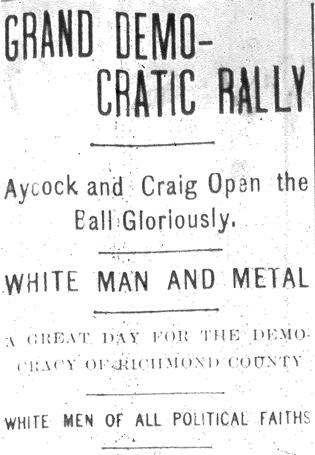 """Grand Democratic Rally."""