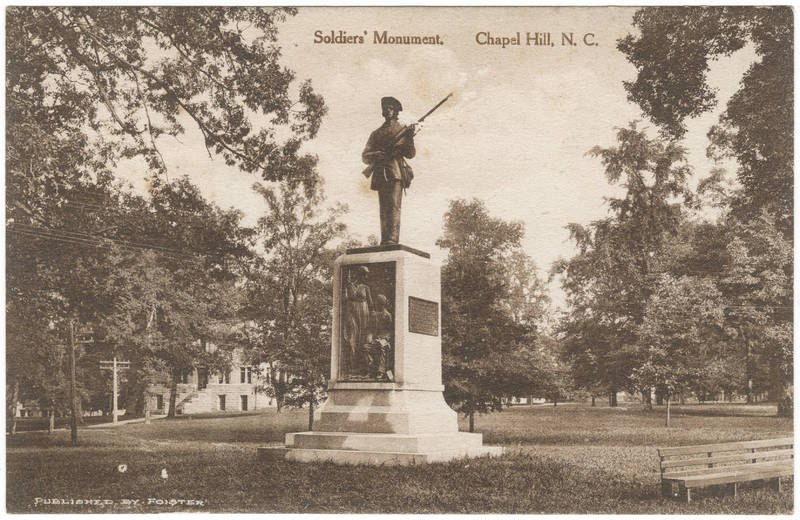 Soldiers' Monument, undated