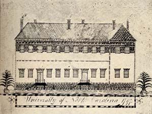 University of North Carolina 1797