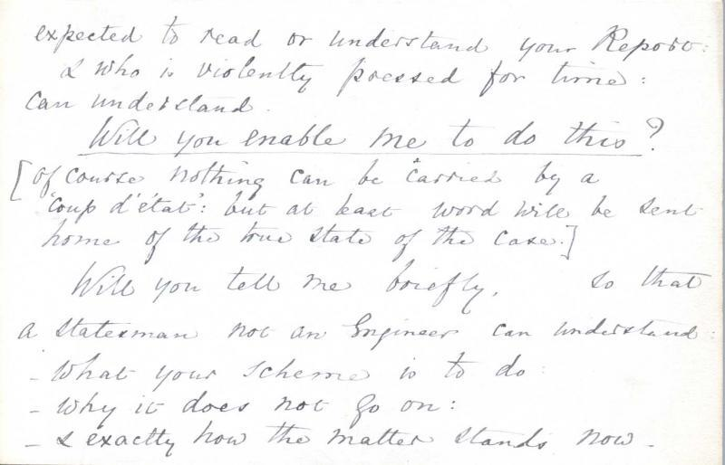 Letter to William Clark: 9 October 1875, page 2