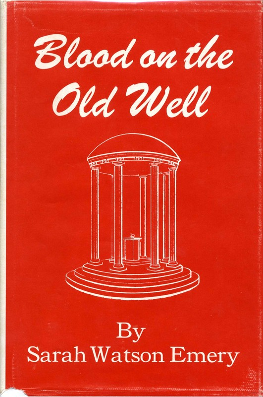 Book cover, <em>Blood on the Old Well</em> by Sarah Watson Emery, 1963