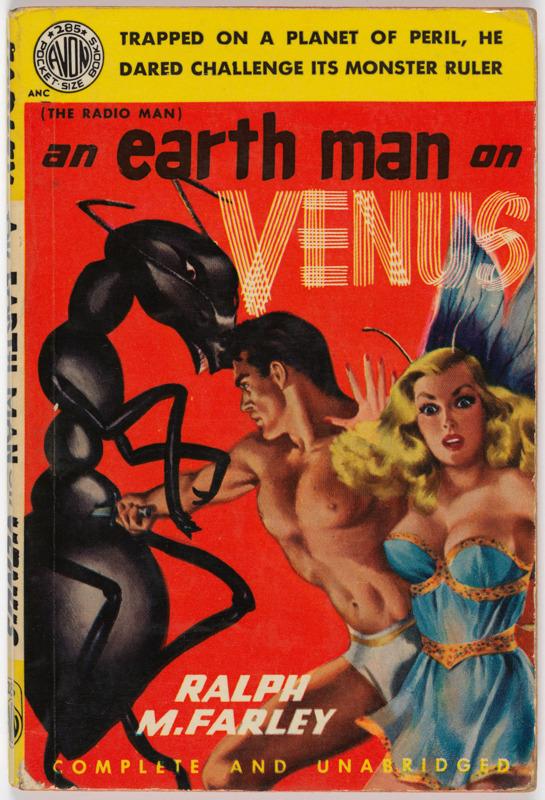 Earth Man on Venus by Ralph M. Farley