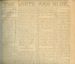 The White and Blue