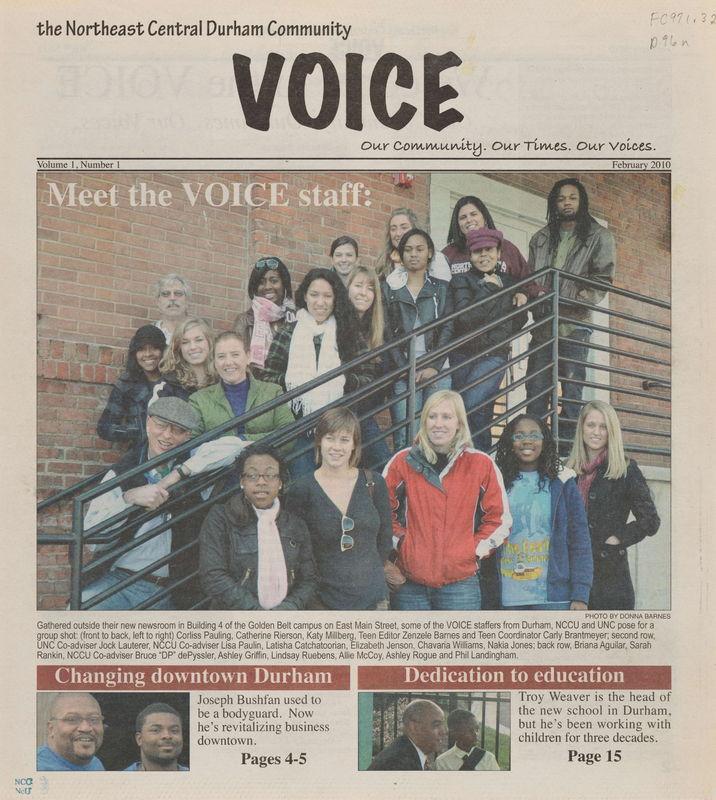 Northeast Central Durham Community Voice
