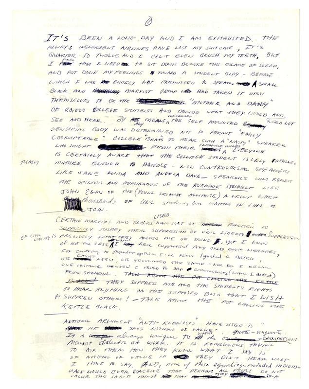 David Ernest Duke Letter