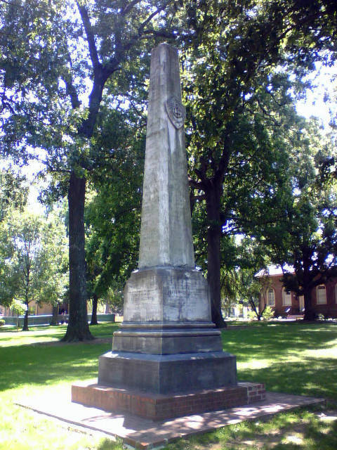 Caldwell Monument, McCorkle Place