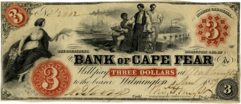 Bank of Cape Fear $3