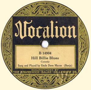 All I've Got's Gone/Hill Billie Blues
