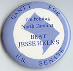Gantt for U.S. Senate: I'm Helping North Carolina Beat Jesse Helms