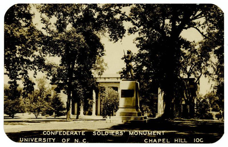 Confederate Soldiers' Monument, circa 1943