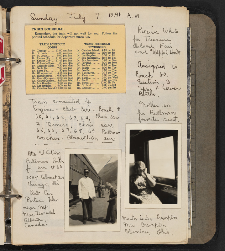 Helen Laura Ruth's travel scrapbook