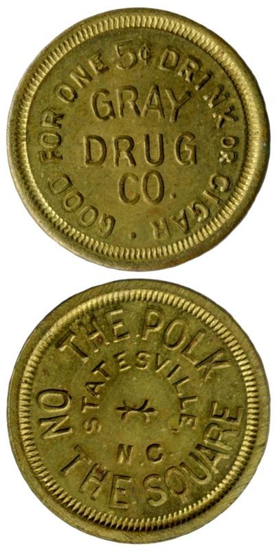 Gray Drug token