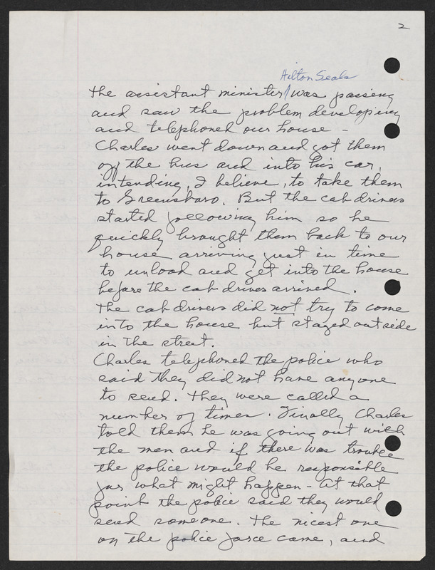 Letter from Charles Miles Jones to a New York Times journalist