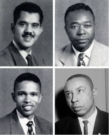 Harvey Beech, James Lassiter, Floyd McKissick, and Kenneth Lee
