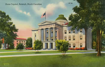 North Carolina State Capitol, Raleigh
