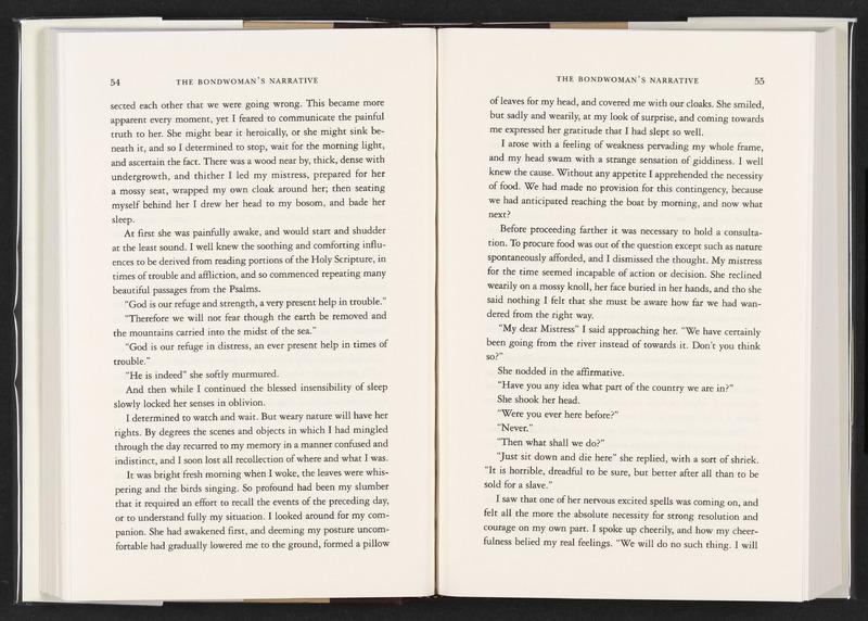The Bondswoman's Narrative (Facsimile edition)