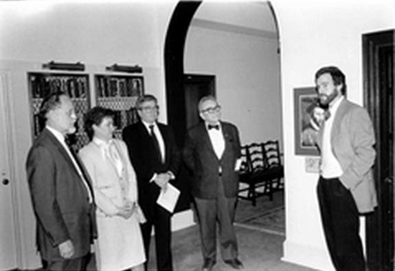 Neil Fulghum in Gallery, 1988