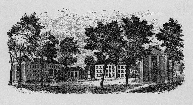 University of North Carolina, 1855.