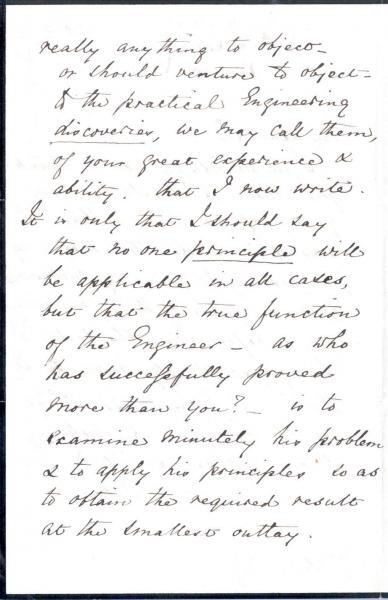 Letter to William Clark: 5 October 1872, page 2
