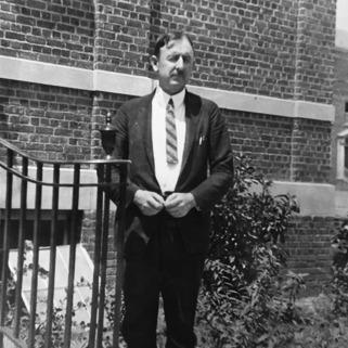 Howard Odum at Carolina Hall