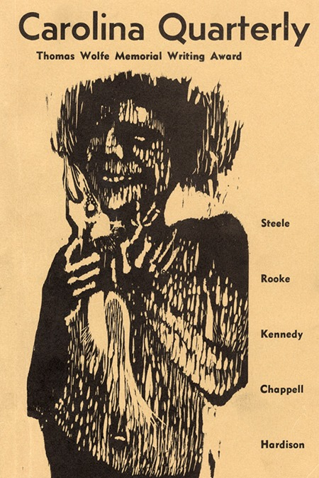 Magazine cover, <em>Carolina Quarterly</em>, Fall 1966 issue, Volume XVIII, No. 3