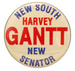 New South Harvey Gantt New Senator