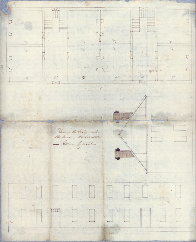 19 July 1793. Plan of Old East.