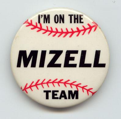 Wilmer Mizell button