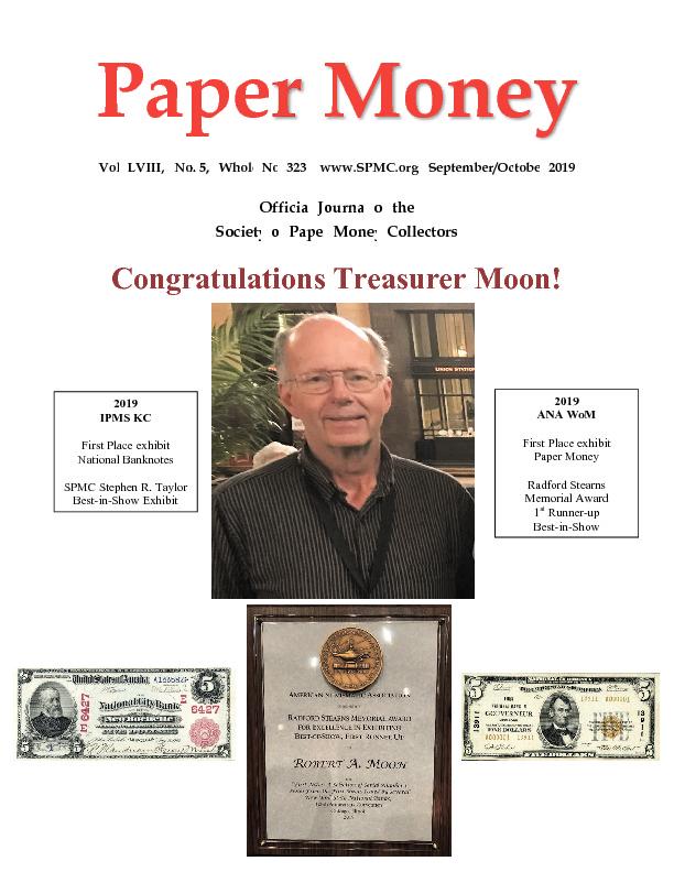 Article about NC Civil War paper money