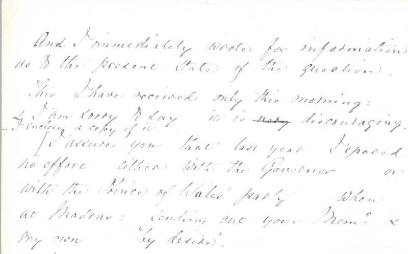 Letter to William Clark: 9 September 1876, page 2