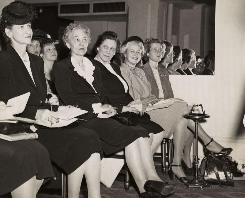 Dem. Speakers School, 1946