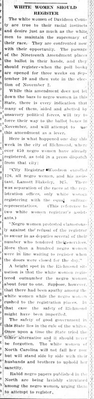 The Dispatch Friday September 24, 1920
