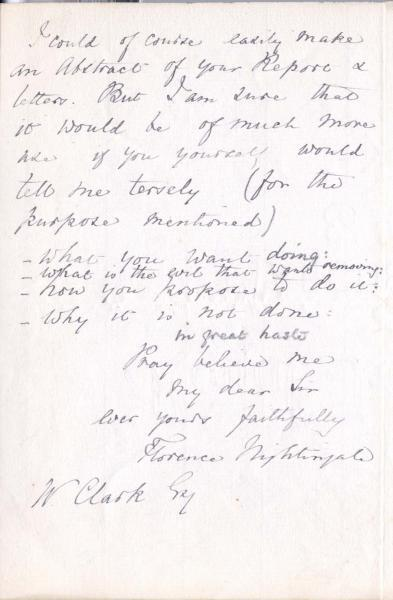 Letter to William Clark: 9 October 1875, page 3