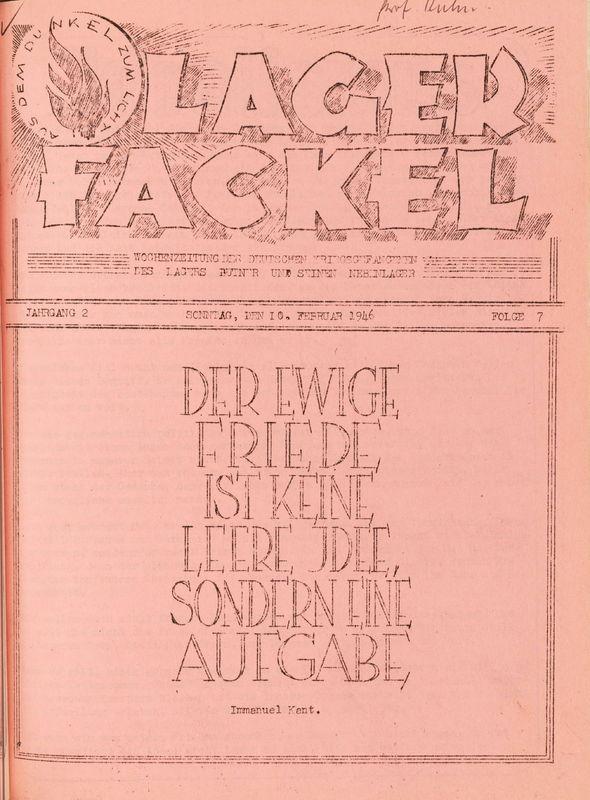 Lager Fackel