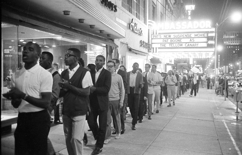 Civil rights demonstration, 27 May 1963, Raleigh, N.C.
