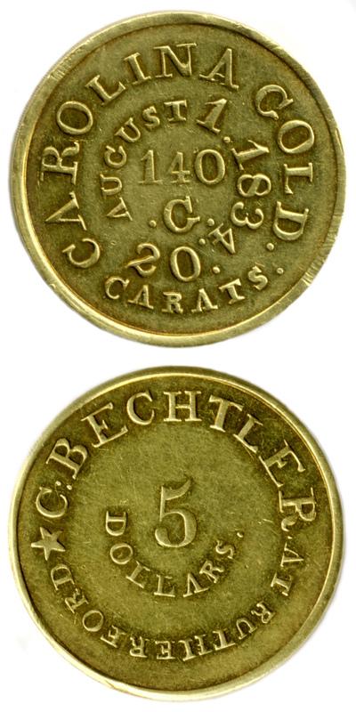 Bechtler $5 coin