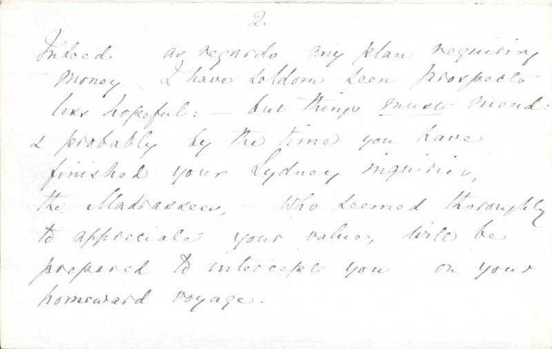 Letter to William Clark: 9 September 1876, page 5