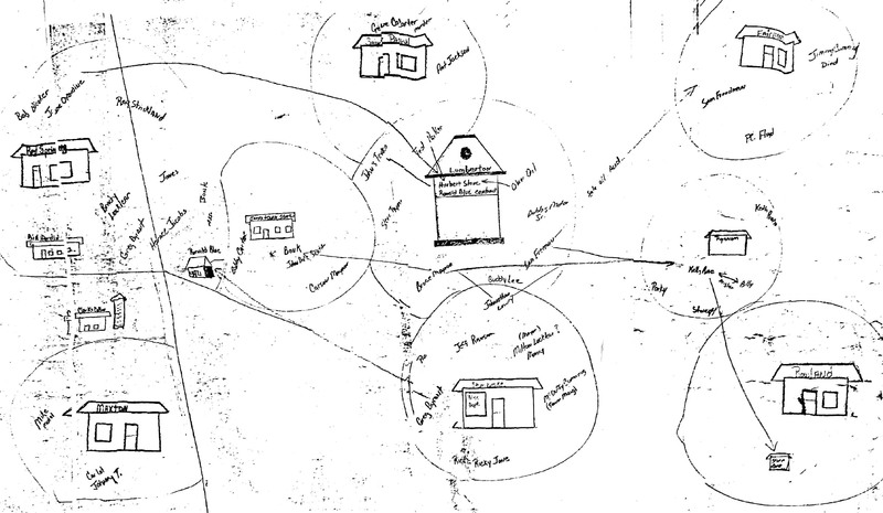 Hatcher's Map of Drug Drop Off Locations