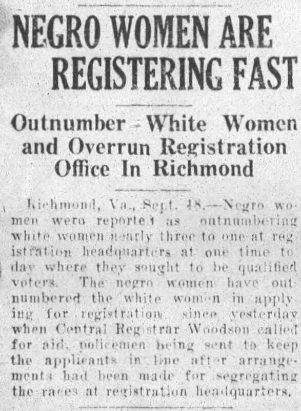 Rocky Mount Telegram Saturday September 18, 1920