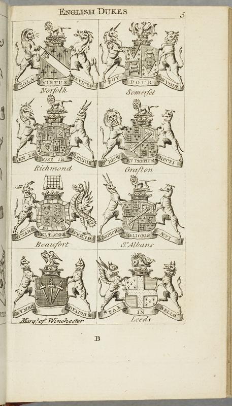 Royal Kalendar (recto)