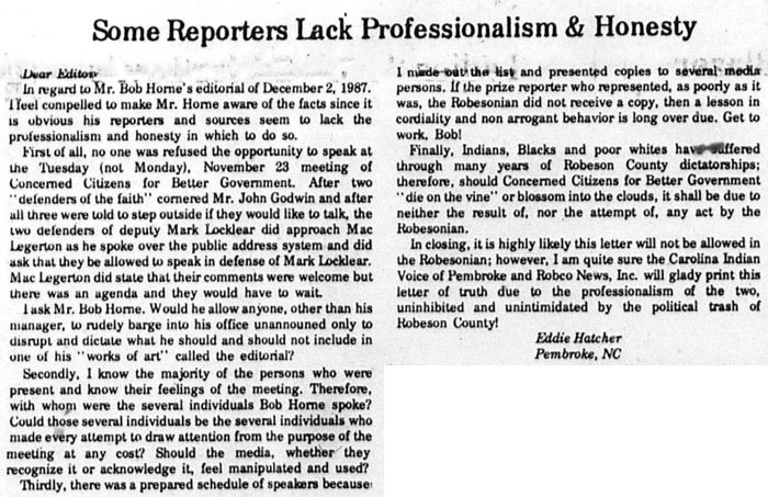 Some Reporters lack professionalism