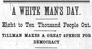 """A White Man's Day."""