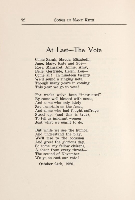 At Last--The Vote
